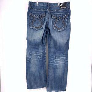 Big Star Pioneer Bootcut Mens 42x32 Jeans